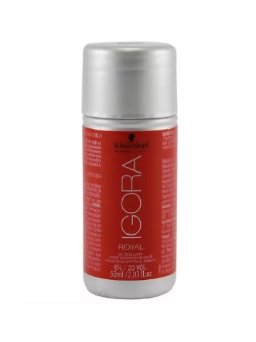 Schwarzkopf Igora Royal Água Oxigenada 6% 20 Vol. 60ml