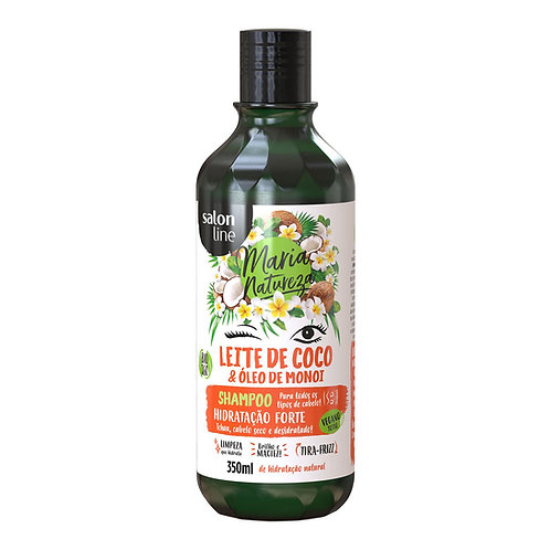 Shampoo Maria Natureza Leite de Coco Hidratação 350ml