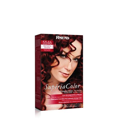 Tonalizante 5546 Vermelho Amora Supéria Color Amend