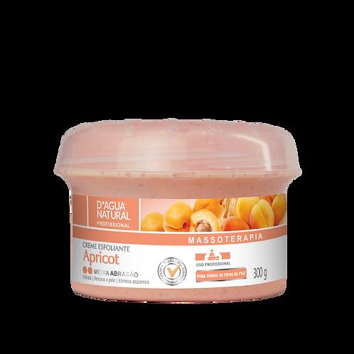 Creme esfoliante Apricot média abrasão 300g