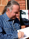 Author Joe Harwell signing books Tulsa Oklahoma