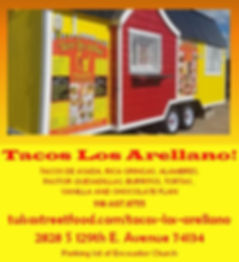 Tacos Los Arellano Tulsa Food Trucks