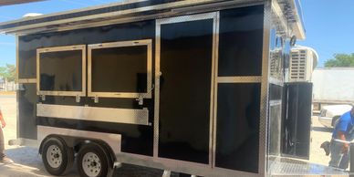 Remolques FTM Tulsa Food Trucks Purple Trailer 16 FT