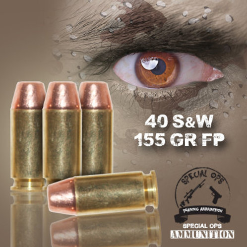 SPECIAL OPS AMMO 40 SW 155 GR FP