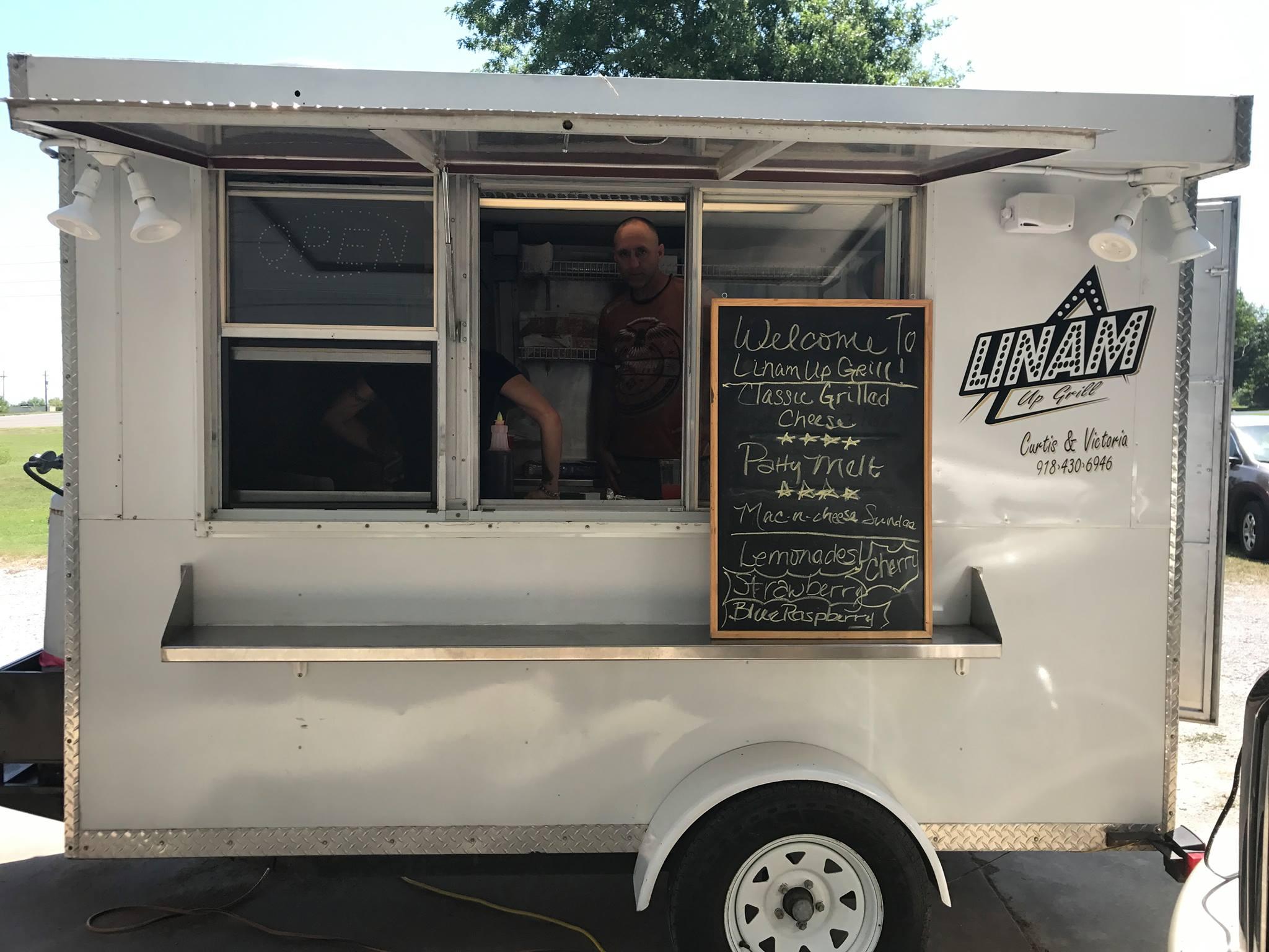 Linam Up Grill Tulsa Food Trucks