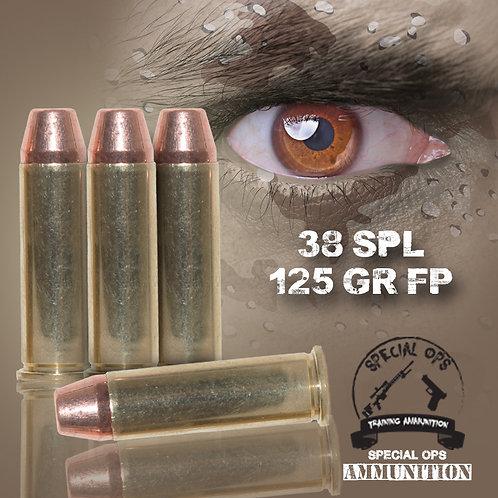 SPECIAL OPS AMMO 38 SPL 125 GR FP