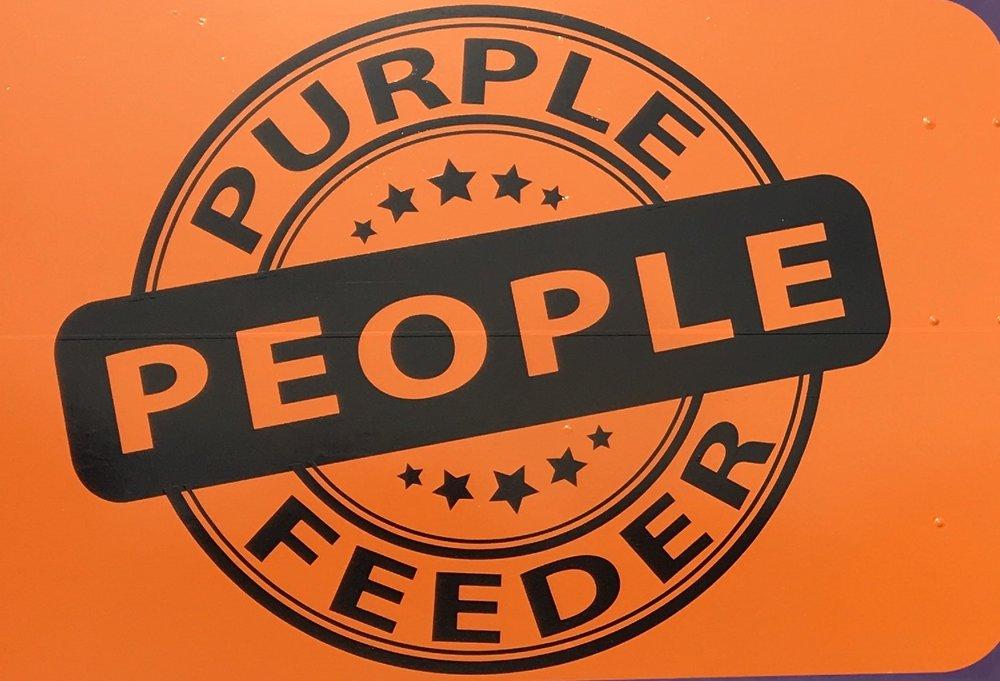 Purple People Feeder