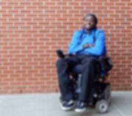 Emeka Nnaka Glove Recipient for The Sterling Thomas Push Push Pray Foundatin