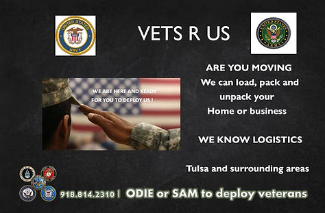 Vets R US Moving Service in Tulsa