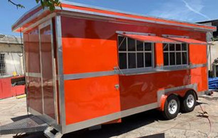 Remolques FTM Tulsa Food Trucks Orange Trailer 18