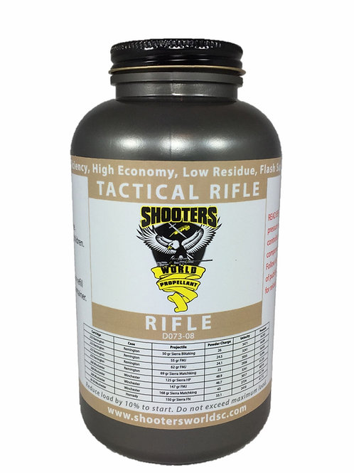 1LB SHOOTERS WORLD TACTICAL RIFLE