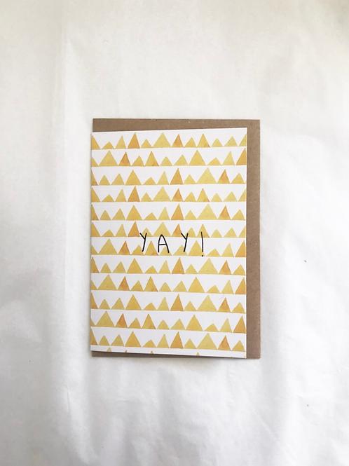 CARD - YAY