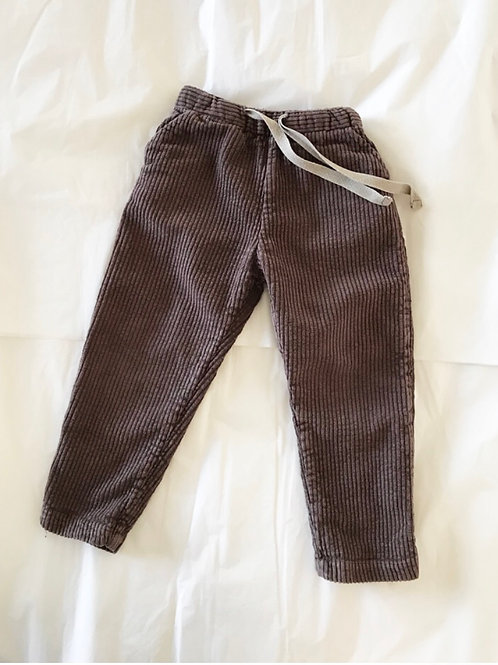 RELOVE CORDUROY PANTS 2-3Y