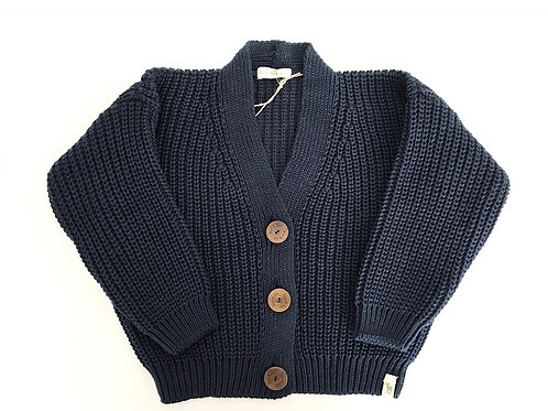COTTON / WOOL CARDI