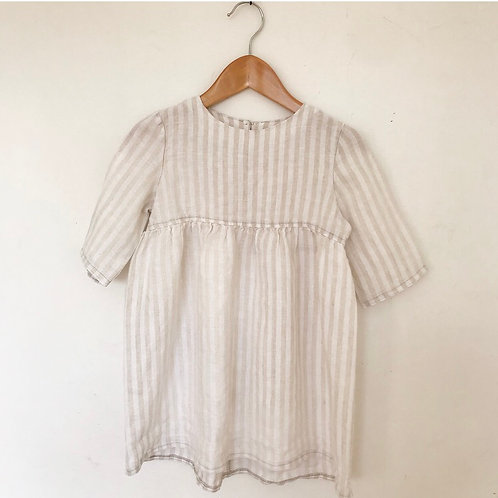 RELOVE LINEN DRESS 3Y