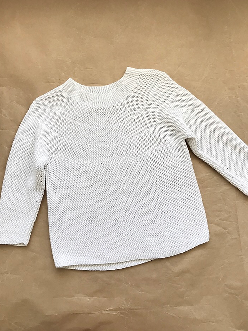 COTTON KNIT JUMPER 3-4Y