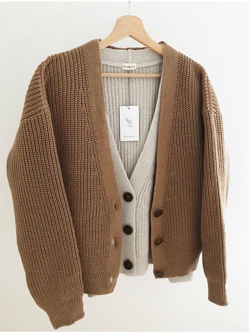 KNITTED CARDIGAN - ADULT