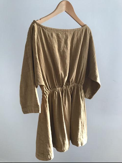 RELOVE COTTON MUSLIN DRESS - 9-10Y