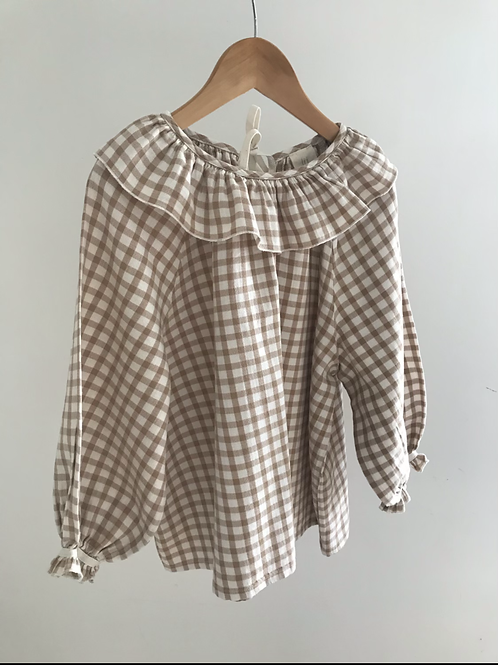 RELOVE FRILL BLOUSE - 8/10Y