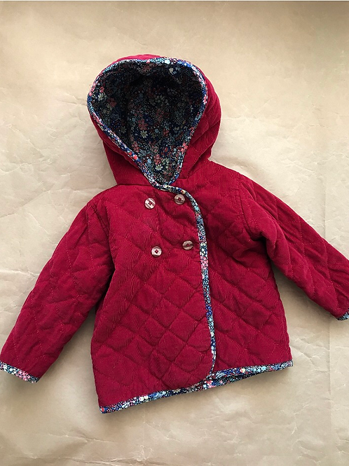 QUILTED JACKET 6-12m