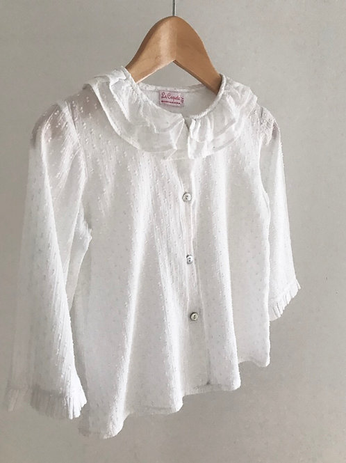 PRE LOVED COTTON  BLOUSE 4Y