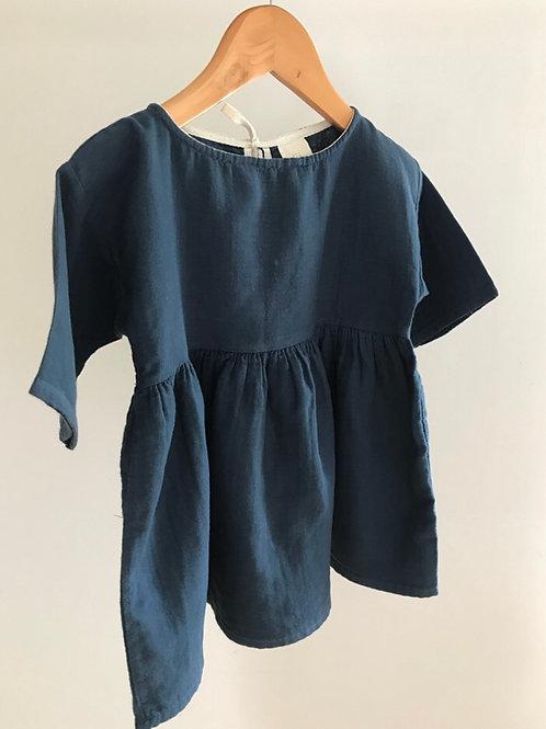 RELOVE COTTON DRESS 1-2Y
