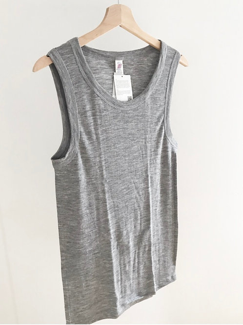 MERINO / SILK VEST - MEN