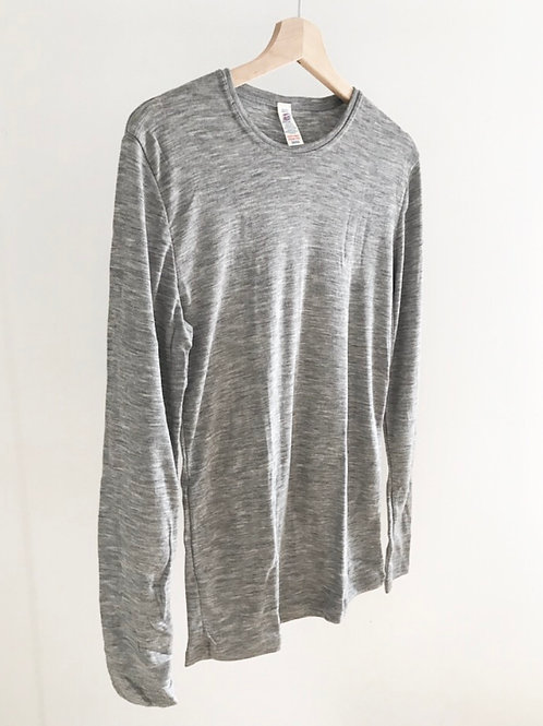 MERINO/SILK L/SLEEVE TOP - MEN