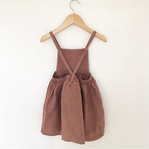 RELOVE LINEN DRESS 3Y