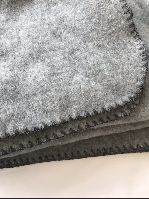 ORGANIC WOOL FLEECE BLANKET