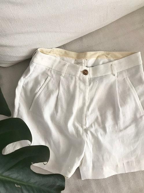 RELOVE CLASSIC WHITE SHORTS