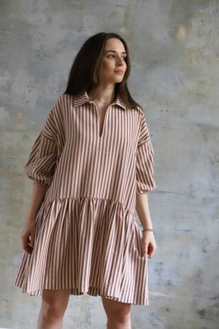 WOMENS STRIPE DRESS