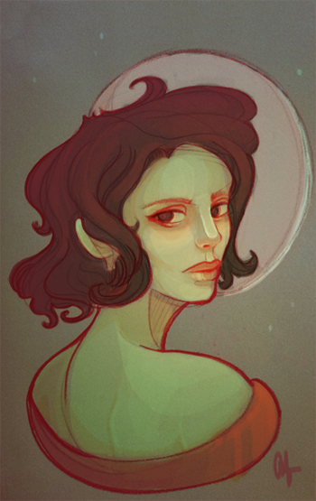 Mari Dama- Basque Witch