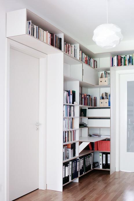shelves corridor