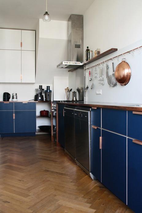kitchen blue