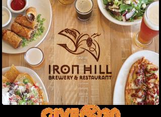 Dine & Donate: IRON HILL February 25 - February 26, 2020