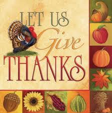 Thanksgiving Worship Tuesday Nov 26th