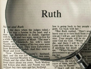 Adult Forum Class - Old Testament book of Ruth