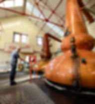 Pot still at Scotch whisky distillery, Speys