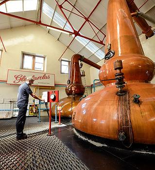Pot still at Scotch whisky distillery, Speys