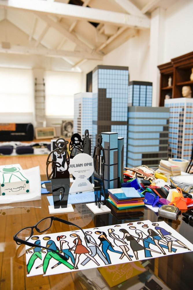 Studio and office of Julian Opie, Artist in London