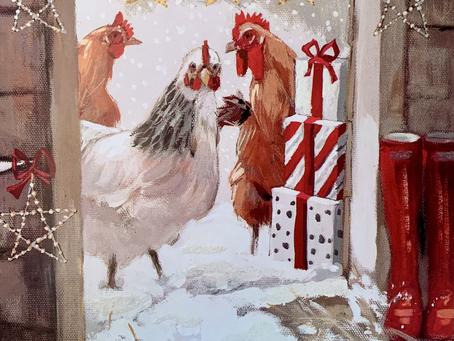 今年のベストクリスマスカードは‥