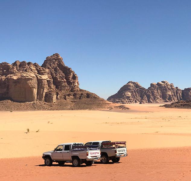Desert Pock Up
