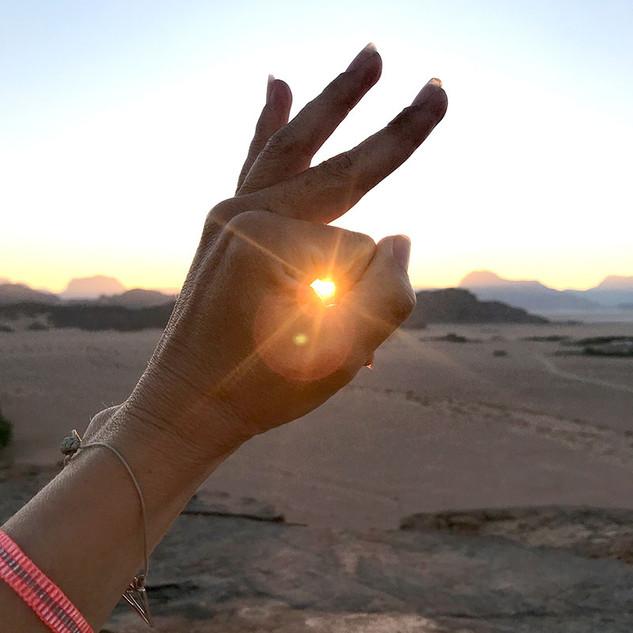 Catching Sunrise Wadi Rum