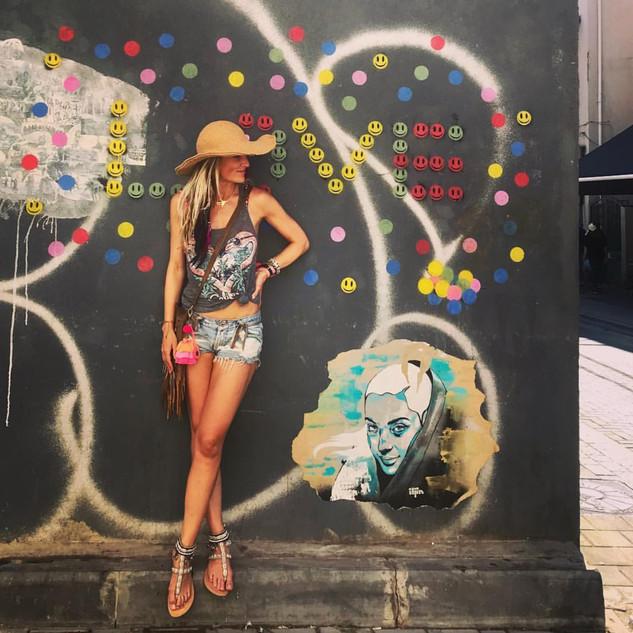 Girl in Tel Aviv