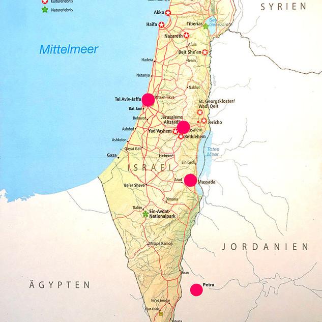 Roadtrip Israel Jordanien