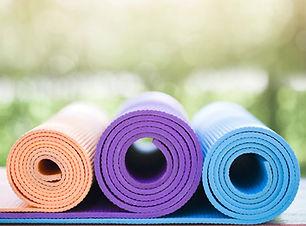 esteiras de ioga