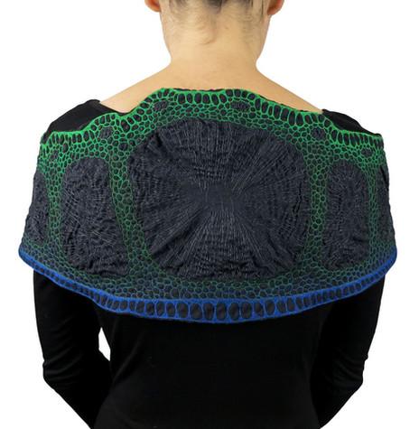 Cross-section shoulder wrap back