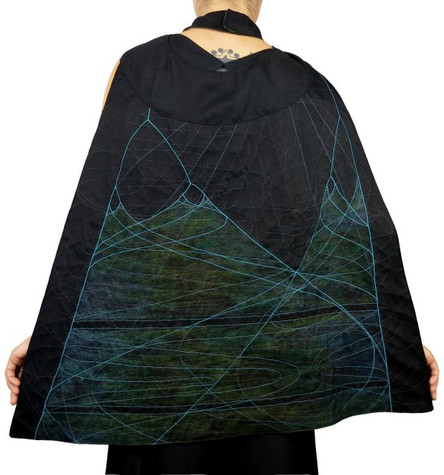 Bifurcation cape back