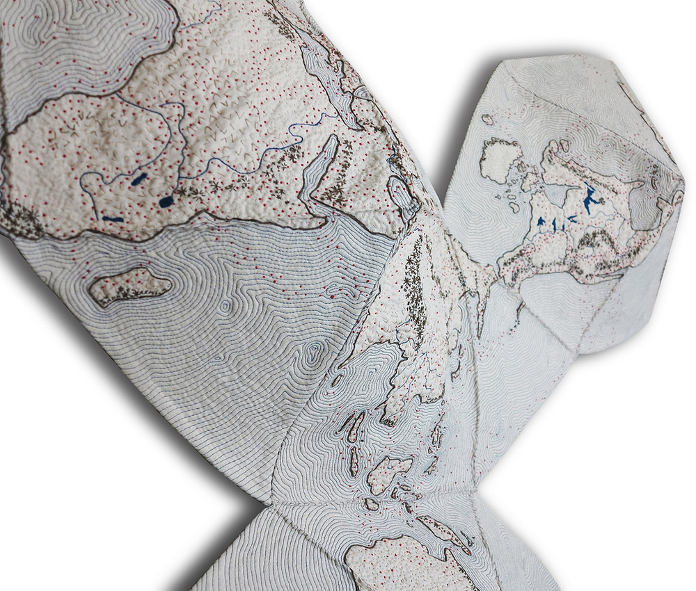 Shea Wilkinson- Dymaxion Map